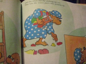 Berenstain Bears, Momma Bear Cleaning