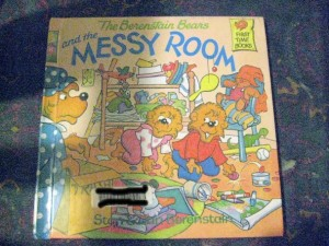 berenstain bears book and the messy room