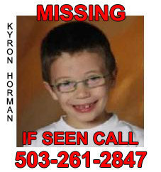 Kyron Horman, Missing, June 4, 2010, Portland OR
