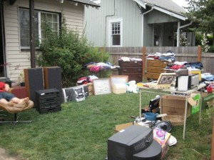 Our First Yard Sale