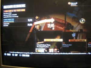Rocksmith gutar game menu