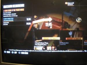 Rocksmith gutar game menu