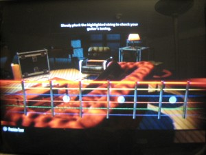 Rocksmith Guitar Tuning screen
